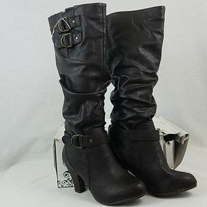 Rampage Eleanor Heeled Boots